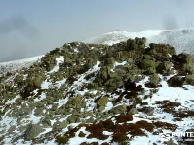 Siete Picos - Valle la Fuenfría; nieve madrid; rutas por la sierra de madrid